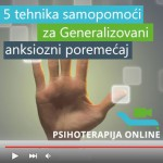5 Tehnika samopomoći za Generalizovani anksiozni poremećaj – video program
